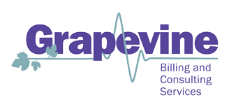 Logo Grapevine Billing - Specializing in healthcare billing serv ices.